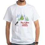 CKCS Christmas White T-Shirt