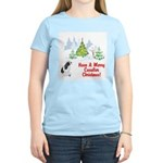 CKCS Christmas Women's Pink T-Shirt
