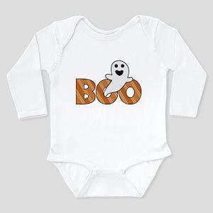BOO Spooky Halloween Casper Body Suit