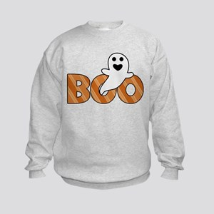 BOO Spooky Halloween Casper Sweatshirt