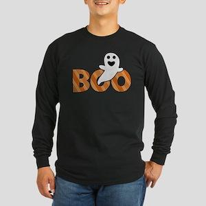 BOO Spooky Halloween Casper Long Sleeve T-Shirt