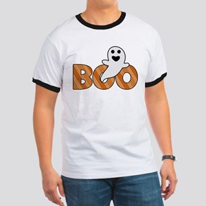BOO Spooky Halloween Casper T-Shirt