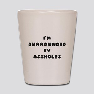 surrounded Shot Glass