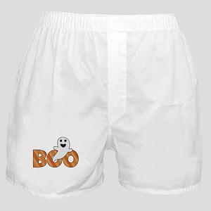 BOO Spooky Halloween Casper Boxer Shorts