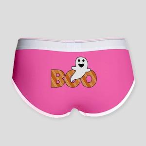 BOO Spooky Halloween Casper Women's Boy Brief
