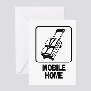 Mobile Home Greeting Cards