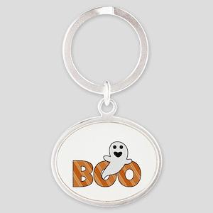 BOO Spooky Halloween Casper Keychains