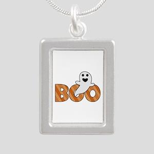 BOO Spooky Halloween Casper Necklaces