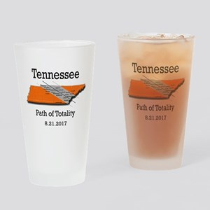 solar eclipse tennessee Drinking Glass