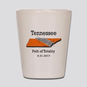 solar eclipse tennessee Shot Glass