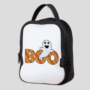 BOO Spooky Halloween Casper Neoprene Lunch Bag
