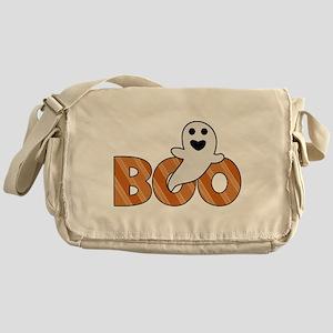 BOO Spooky Halloween Casper Messenger Bag