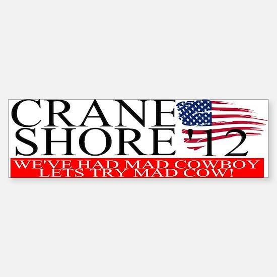 Denny Crane for President Bumper Bumper Stickers