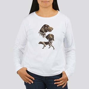 German Shorthaired pointer Women's Long Sleeve T-S