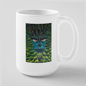 Green Man Mugs