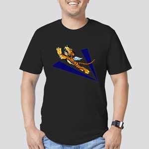 The Flying Tigers Men's Fitted T-Shirt (dark)