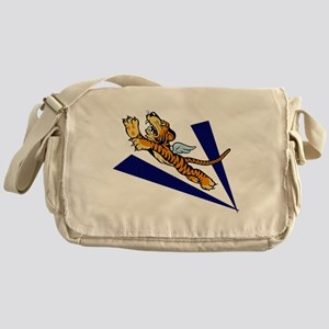 The Flying Tigers Messenger Bag