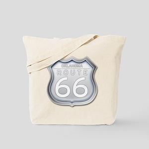 Oklahoma Route 66 - Grey Tote Bag