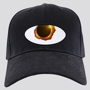 total eclipse Black Cap with Patch