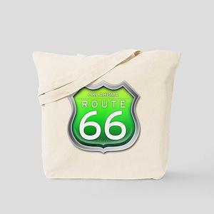 Oklahoma Route 66 - Green Tote Bag