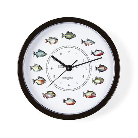 Piranha Wall Clock