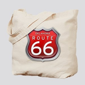 Oklahoma Route 66 - Red Tote Bag