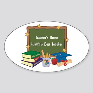 Personalized Teacher Sticker