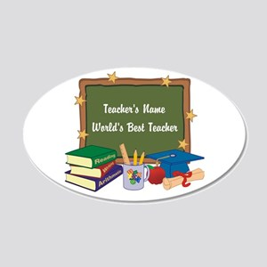 Personalized Teacher Wall Decal