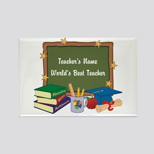 Personalized Teacher Magnets