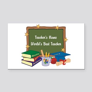 Personalized Teacher Rectangle Car Magnet