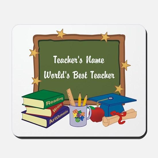 Personalized Teacher Mousepad