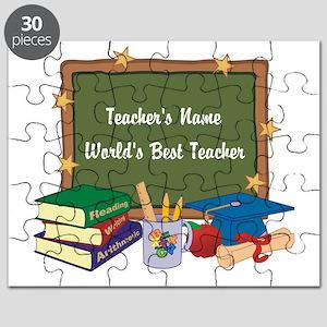 Personalized Teacher Puzzle