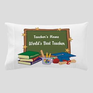 Personalized Teacher Pillow Case