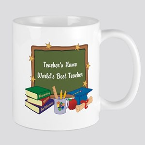 Personalized Teacher Mugs