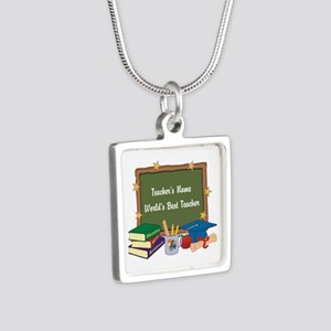 Personalized Teacher Necklaces