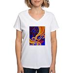 Sensual Women's V-Neck T-Shirt