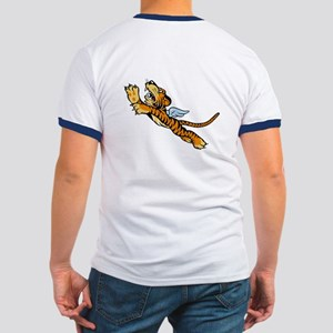 The Flying Tigers Ringer T