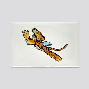 The Flying Tigers Rectangle Magnet