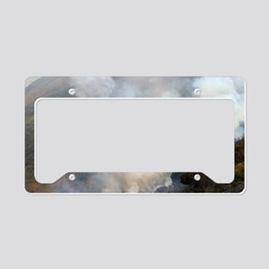 Barnett Fire License Plate Holder