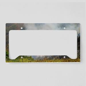 Barnett Fire License Plate Holder