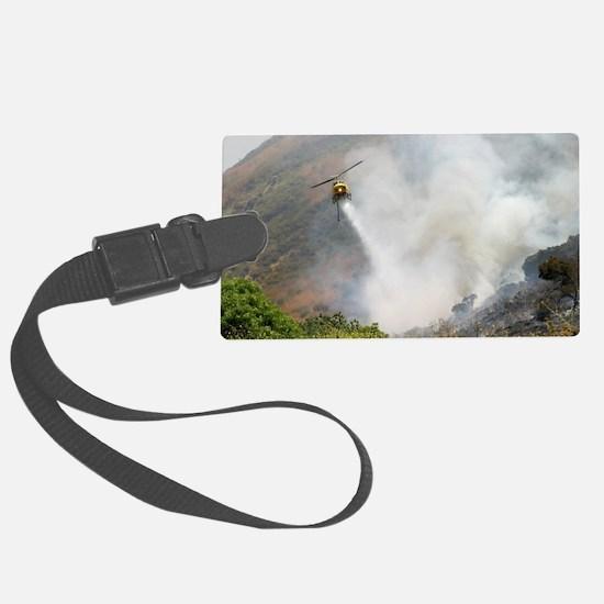 Barnett Fire  Luggage Tag