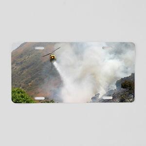 Barnett Fire  Aluminum License Plate