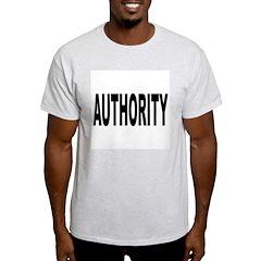 Authority Ash Grey T-Shirt