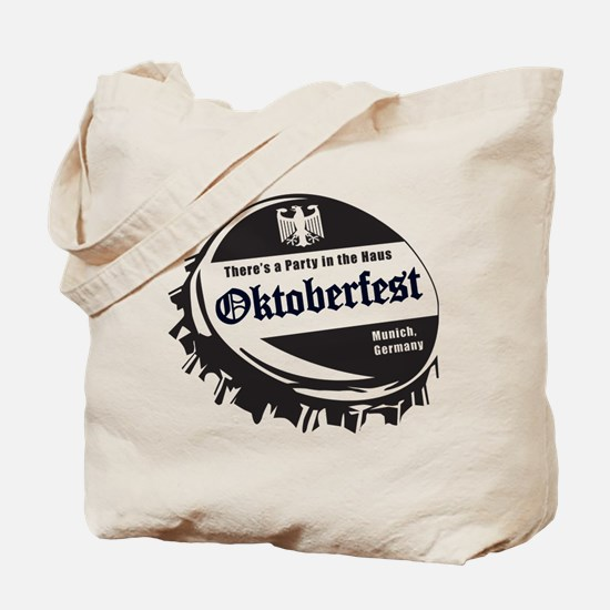 Oktoberfest Party in the Haus Tote Bag