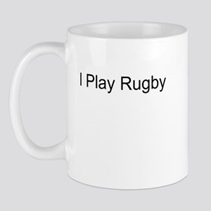 I Play Rugby T-Shirts and App Mug