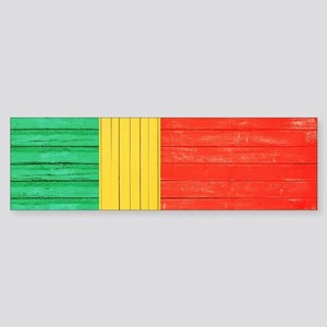 Portuguese flag Sticker (Bumper)
