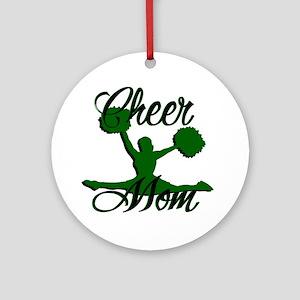 cheer mom 2 Ornament (Round)