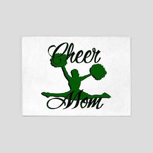 cheer mom 2 5'x7'Area Rug