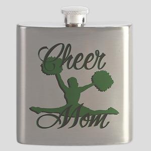 cheer mom 2 Flask