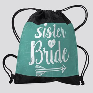 Sister of Bride Drawstring Bag